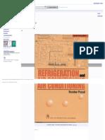 Refrigeration and Air Conditioning - Google Buku