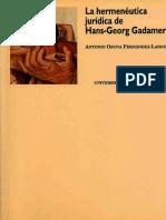 Osuna Fernandez- Largo, Antonio La hermenéutica jurídica de Hans- Georg Gadamer.pdf