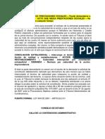 Acto Que Niega Prestaciones Sociales No Puede Demandarse en Cualquier Tiempo - 2010 - 25000-23!25!000-2007-00969-02(1151-09)