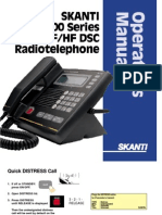 Skanti Trp 1000 Series Operators Manual
