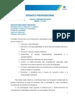 Desafio Profissional Retificadora Ltda