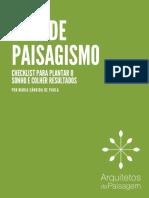 Viva de Paisagismo Checklist