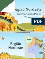 7 Ano - Aula 01 - Região Nordeste - EE Joaquim Saraiva