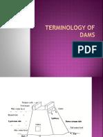 Terminology of Dams