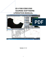 Manual de Video Measuring System