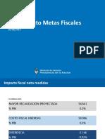 Resultado fiscal julio 2019