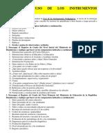 Tema Vi. Uso de Instrumentos Pedagógicos