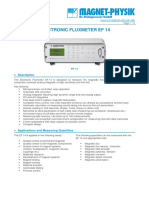 Manual de Fluxmeter