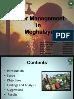 H1_Water Management In Meghalaya.pptx