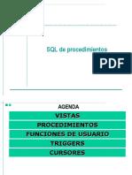 Presentacion 4 SQL de Procedimientos V1 Cuarta Sesión-1