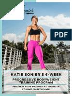 Katie Sonier 6 week