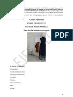 Ejemplo Microempresa Boutique