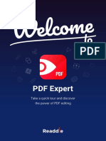 Welcome to PDF Expert