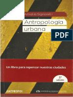 Nieto a Manera de Epc3adlogo. Cultura y Antropologc3ada Urbanas en Amc3a9rica Latina La Experiencia Mexicana