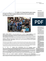 Decreto Legislativo Nº 1384_ Un Importante Paso Para El Ejercicio de La Capacidad Jurídica de Las Personas Con Discapacidad_ - IDEHPUCP PUCP