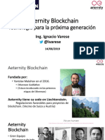Presentación Aeternity Blockchain