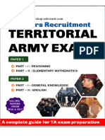 Territorial Army eBook 2019 SSBCrack