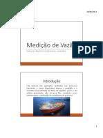 Aula 6 - Medição de Vazão.pdf