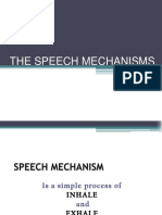The Speech Mechanisms
