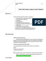 PHP Functions, Array and Strings.pdf