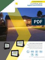 GOL057-16 R3 Ficha Tecnica - Ultraled Refletor Alta Potencia