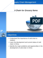 6.3Cold Chain for Grocery Items