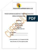 Curriculo Profa. Yesenia Camaño Grupo#20