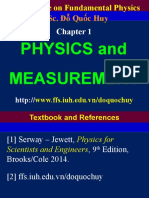 Chapter 1 Physics and Measurement