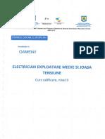 2. Electrician Exploatare Medie Si Joasa Tensiune
