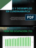 Empleo y Desempleo en Cundinamarca