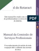 Kit Do Rotaract - Profissionais