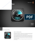 Disk Speed Test Manual