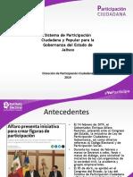Presentación Sistema de Participación Ciudadana