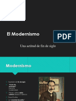 12 El Modernismo