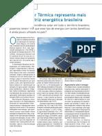 Energia Solar Térmica - Relatório