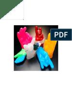 Wax Hands Sample