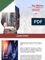Brochure KEY METRICS vs Abril 2018