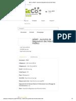 GECO _ ARMP - Autorité de Régulation Des Marchés Publics 2