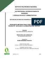 Propuesta metodológica para el diselo de producto aplicada al industria del vestido.pdf