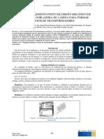 Análisis Por Elemento Finito de Diseño Mecánico de Una Máquina Dobladora de Lámina Para Formar Núcleos de Transformadores