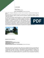 Patrimonios Culturales, Naturales y Vivientes, Municipio Bolívar