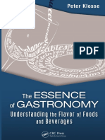 Peter Klosse-The Essence of Gastronomy_ Understanding the Flavor of Foods and Beverages-CRC Press Taylor & Francis Group (2013)