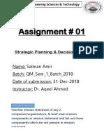 Assignment 01 Spdm