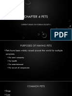 Chapter 4 Pets