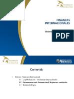 2. Unidad I - Entorno Financiero Internacional - Sistema Monetario Regímenes Cambiarios