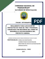 Plan 10440 2017 Reglamento Focam Estudiantes 2017-Aprobado Res. 0265-2017-Cu-unh
