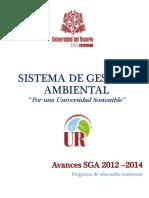 Educacion Ambiental 2015 URosario