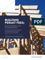 Permit Fee Report