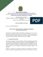 Edital PEC-G 2019 Español