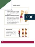 Pausas Activas PDF CTE Nueva Escuela Mexicana